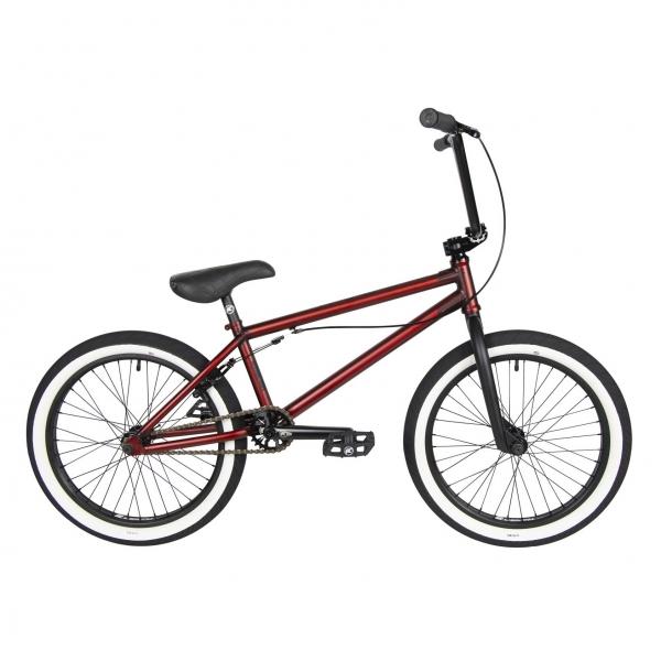 Kench Street PRO 2021 20.5 red metallic BMX bike